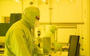 SMART Photonics cleanroom