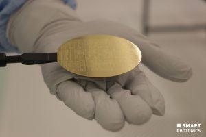 SMART Photonics wafer InP Photonic Integrated Circuit PIC